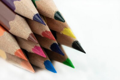 An image of set of color pencils