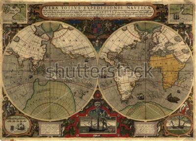 Naklejka Ancient map
