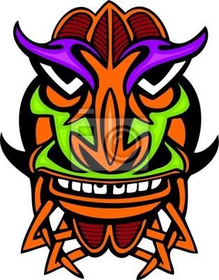 Ancient mask.