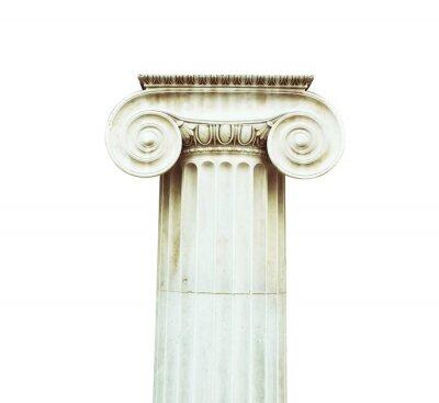 Naklejka Antyczne kolumny w stylu doryckim