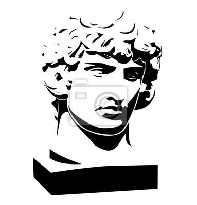 Apollo classic biust i głowy