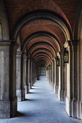 Naklejka arch architektury