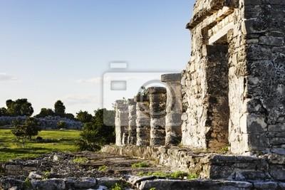 Archeologiczne Majów Tulum site