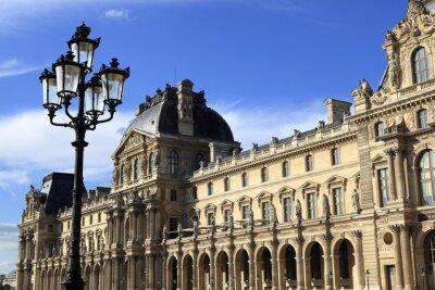 Naklejka Architektura renesansu w Muzeum Luwru w Paryżu