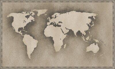 Naklejka Archiwalne mapy