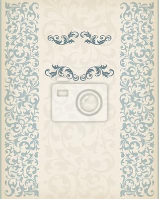 archiwalne ramki granicy wektor wesele ozdobny ozdobny