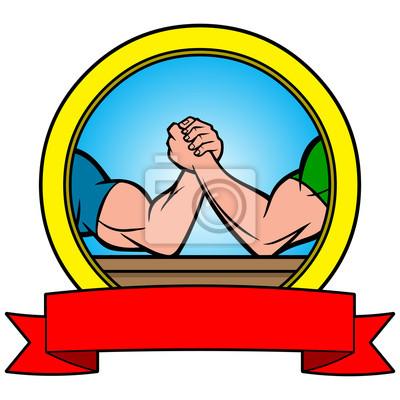 Arm Wrestling Banner