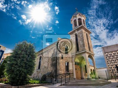 Naklejka Armenian Church of the Holy Cross in the center of Burgas (Bulgaria)