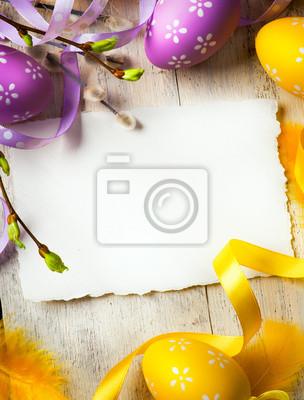 art Wielkanoc tła z pisanki