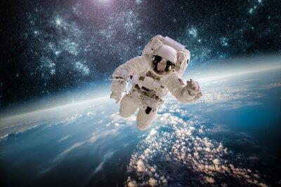 Naklejka Astronaut zewnętrznych elementów spac tego zdjęcia dostarczone przez NASA.