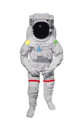 Naklejka Astronauta samodzielnie na białym tle