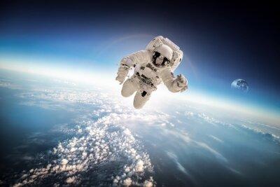 Naklejka Astronauta w kosmosie