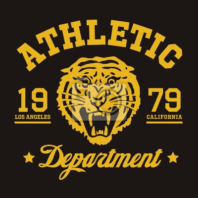 Athletic Department California Tiger