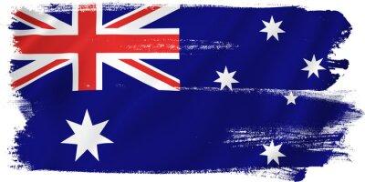 Naklejka Australia flag
