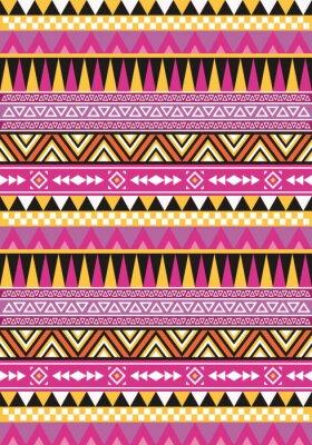 Aztec bez szwu wzór 1