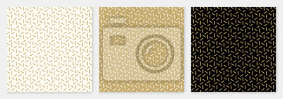 Naklejka Background pattern seamless geometric line abstract gold luxury color vector.