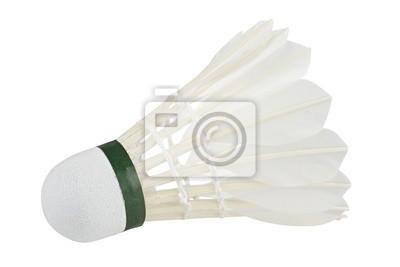 badminton biały
