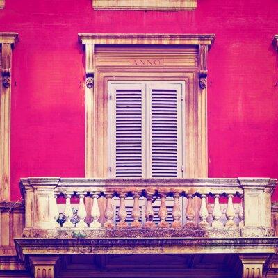 Naklejka Balkon
