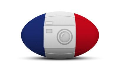 Ballon de Rugby - Francja