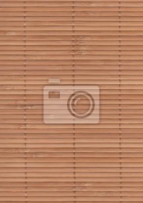 Bambusmatte Hintergrund - braun