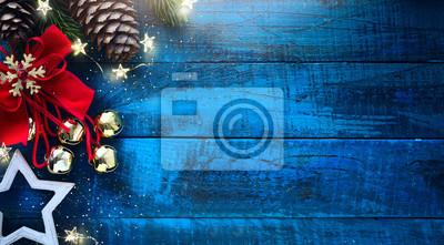 Banner świąteczny. Tło Projekt świąteczny dla poziomego świątecznego plakatu, kart okolicznościowych, nagłówków, strony internetowej
