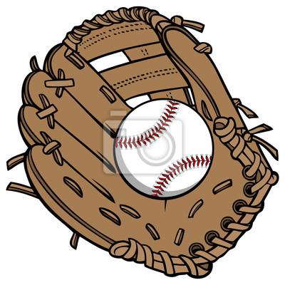 Baseball i rękawiczki