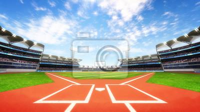 Baseball Stadium plac zabaw z niebieskiego nieba