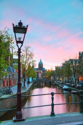 Naklejka Bazylika Świętego Mikołaja w Amsterdamie