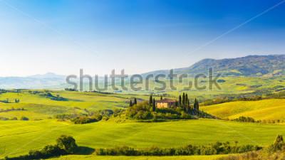 Naklejka Beautiful landscape in Tuscany, Italy