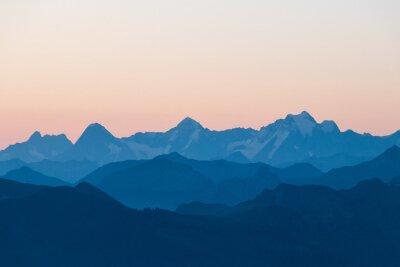 Naklejka Bergpanorama, Berner Oberland, Schweiz.