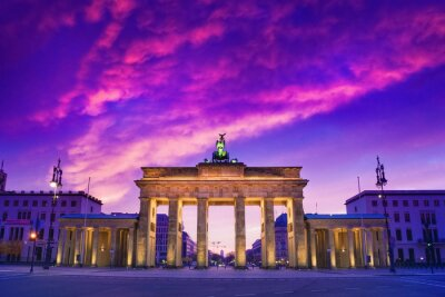 Naklejka Berlin