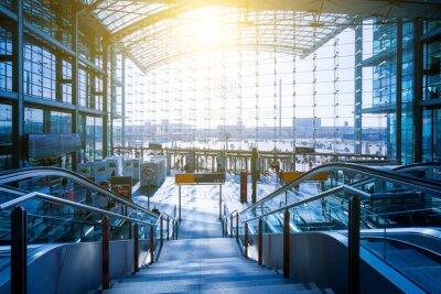 Naklejka Berlin Hauptbahnhof