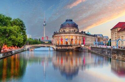 Naklejka Berlin, Muzeum Bodego z odbicia w Spree, Niemcy