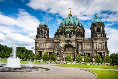 Naklejka Berlin Poczdam i jego otoczenie.