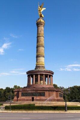 Naklejka Berlin Siegessaule