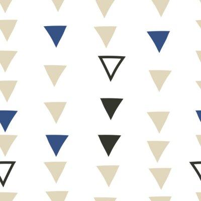 Naklejka bez szwu geometryczny wzór