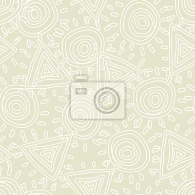 Bez szwu tekstury z abstrakcyjnego słońca. Ilustracji wektorowych.