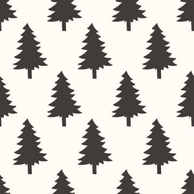 Naklejka bezszwowe wzór Forrest