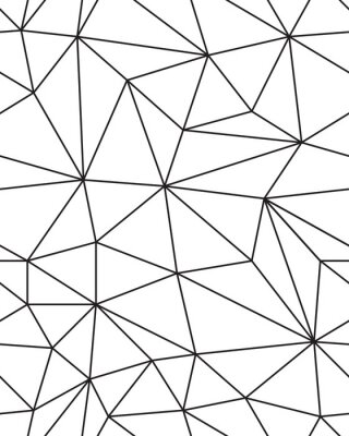 Naklejka Bezszwowych wzór geometrycznych oczek tekstury