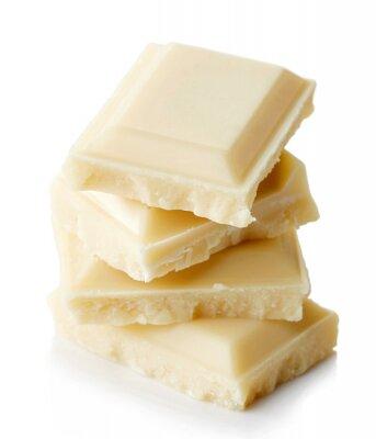 Naklejka Biała czekolada