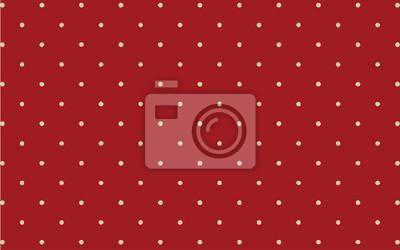 białe kropki polka na czerwonym tle tapety tło