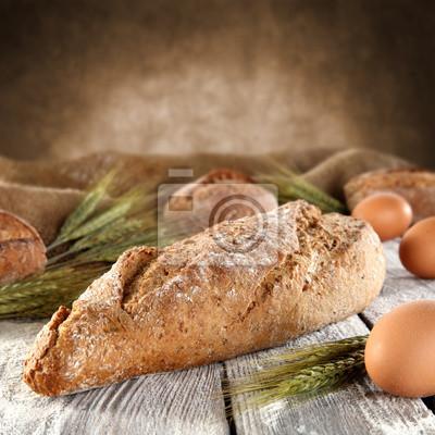 Naklejka Biały chleb