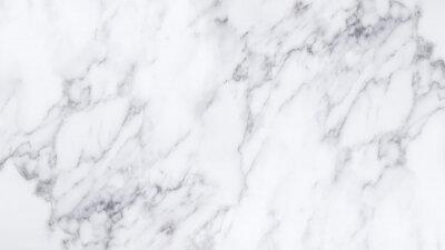 Naklejka Biały marmur tekstury i tła.