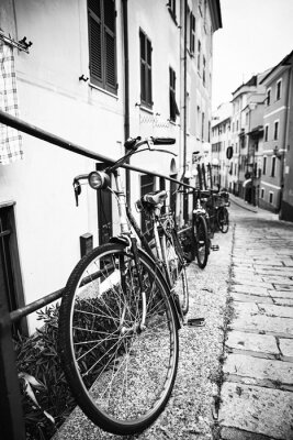 Naklejka Biciclette nel vicolo