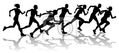 Biegacze wyścigi