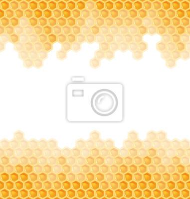 Bienenwabe Hintergrund - endlos