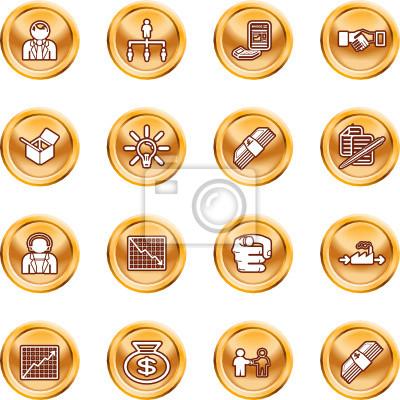 Biznes internetowy zestaw ikon