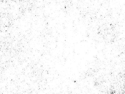 Naklejka Black and white grunge. Distress overlay texture. Abstract surface dust and rough dirty wall background concept. Distress illustration simply place over object to create grunge effect . Vector EPS10.