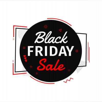 Black friday sale celebration poster