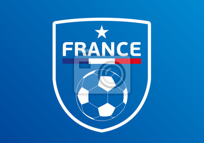 Blason Foot Francja